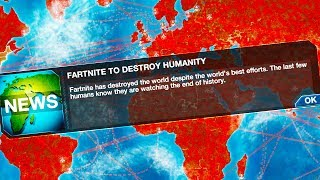fartnite has destroyed humanity in plague inc evolved