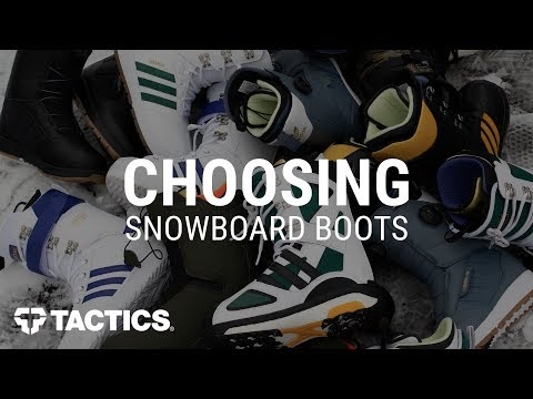 How To Choose Snowboard Boots: Fitting & Buying Guide | Tactics