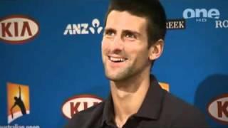 2011 AO Djokovic Pre-Final Press Conference