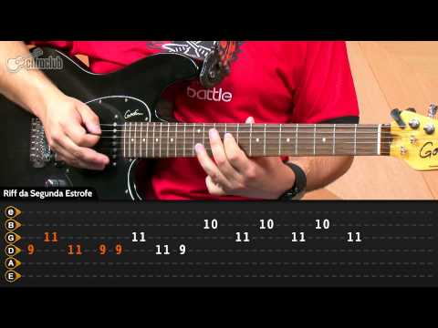 Fortune Faded - Red Hot Chili Peppers (aula de guitarra)