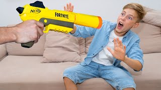 Это ПОДСТАВА...I was tricked...Nerf REBOOT!!!