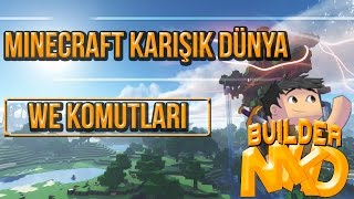 Minecraft World Edit Plugin Komutlari #1