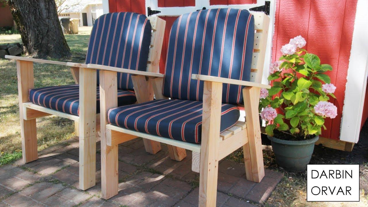 diy lawn chairs darbin orvar youtube