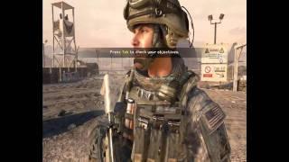 CoD Modern Warfare 2 gameplay on nvidia geforce GT 320