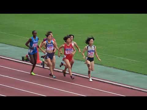 Nat'l Corp Champ2017 Women's800m heat2 Hana YAMADA2:09.86 山田はな Ann Karindi 竹内麻里子