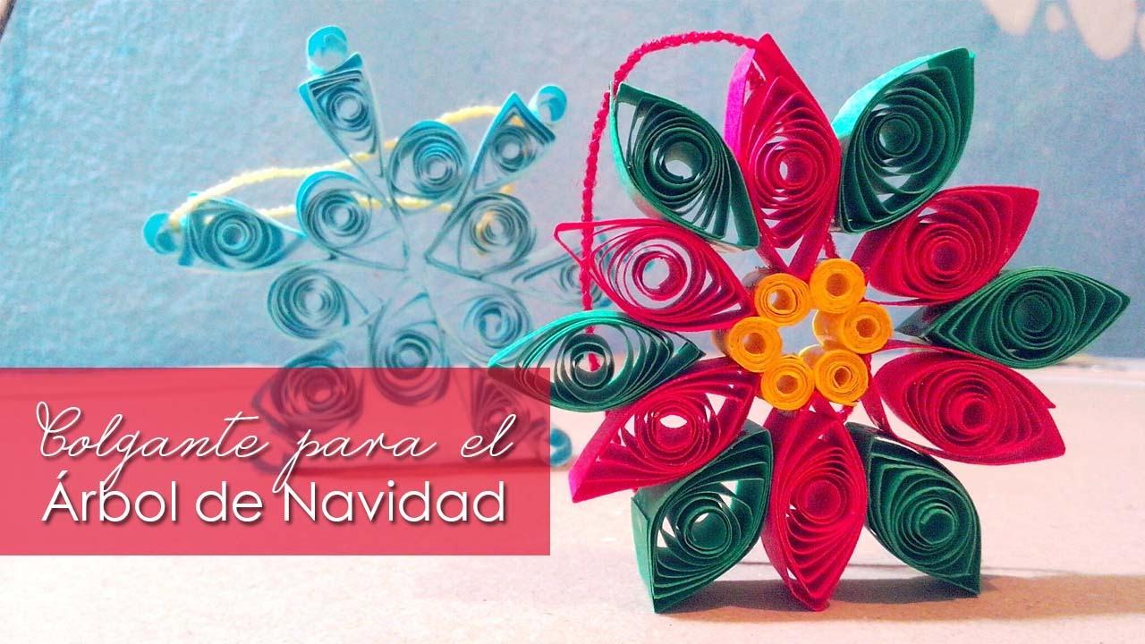 Colgantes de papel para el rbol de navidad especial for Colgantes para arbol de navidad