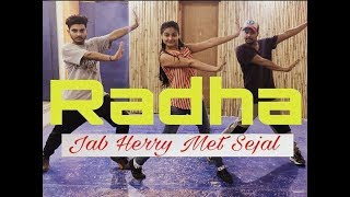 Radha – Jab Harry Met Sejal |dance choreography| S&D (JDC) | Shah Rukh Khan | Anushka Sharma | INDIA