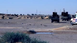 الإصدار الرابع لكتيبة 210 مشاةآلية أثناء الأشتباكات فى الهلال النفطي 2017
