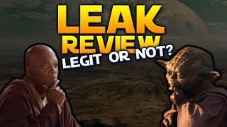 LEAK REVIEW: Battlefront 2 support to 2020, Mace Windu & More - Battlefront 2