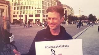 #FreeAssange #Berlin am 11. September 2019
