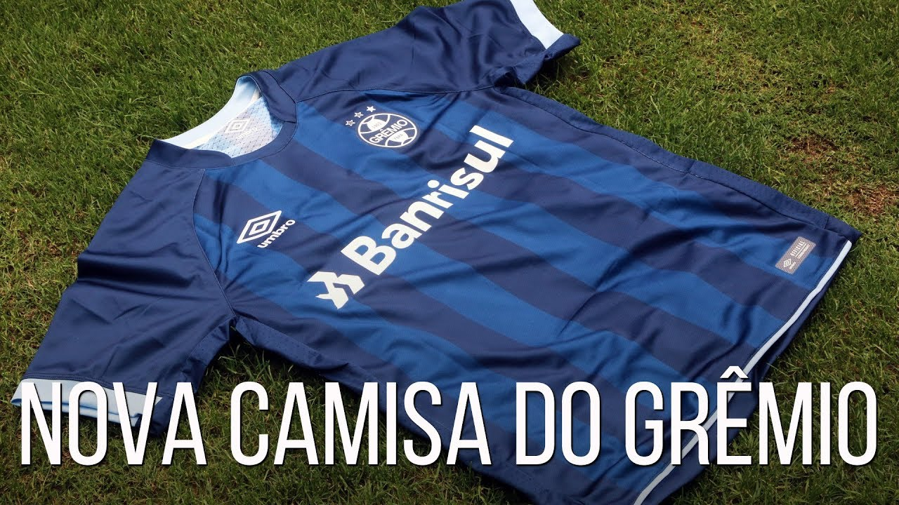 d3263aa5c9b03 CAMISA NOVA DO GRÊMIO - YouTube