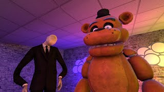 SFM FNAF: Slender likes the Freddy