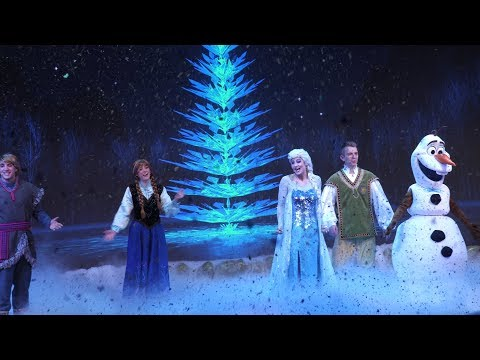 4K When We're Together Part Olaf's Frozen Adventure Frozen Sing-Along Disney's Hollywood Studios