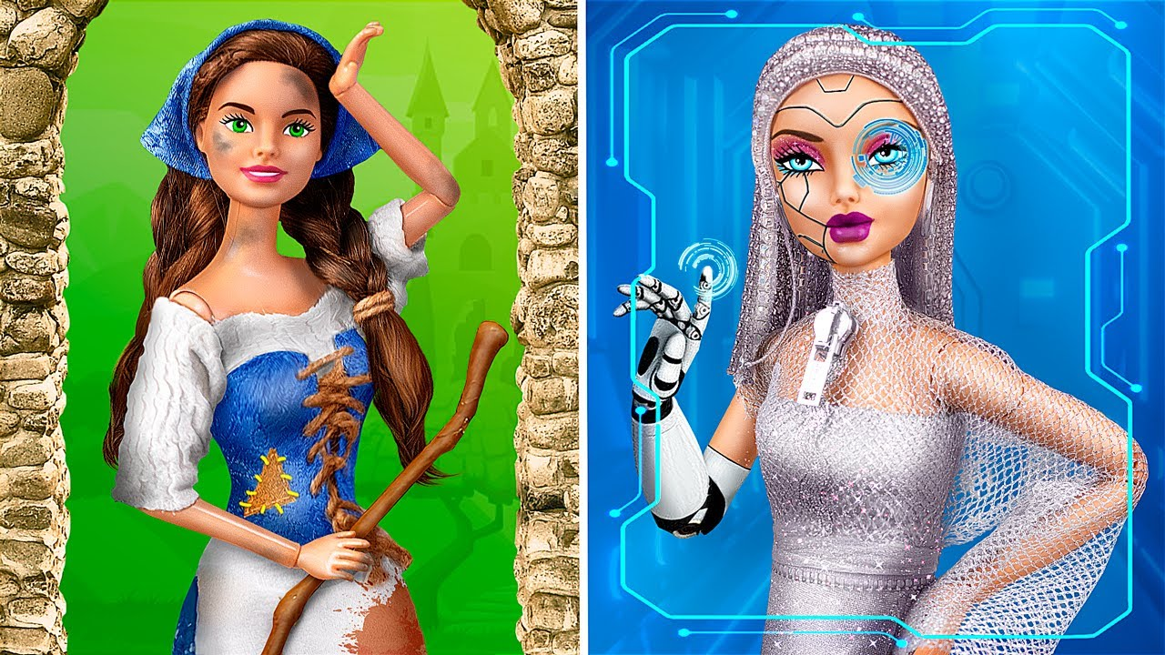 Download From Past to Future / 11 DIY Barbie Hacks and Crafts