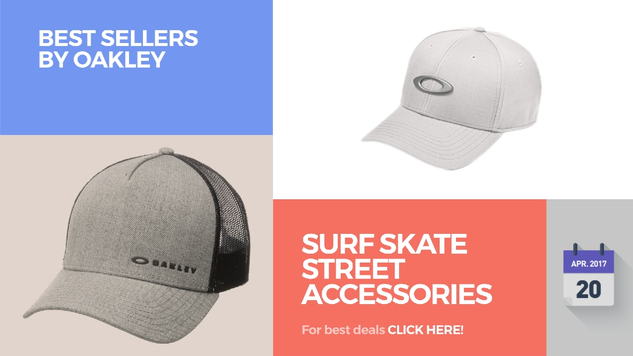 Surf Skate Street Accessories Best Sellers By Oakley - YouTube ecdab560bec3