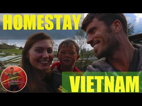 STAY AT A LOCAL VIETNAMESE FAMILY IN SAPA - Ep 121
