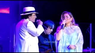 AlBano e Romina Power cantano Tu soltanto tu. Kracovia 15 maggio 2016