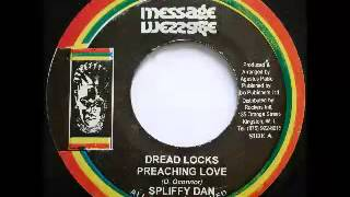 SPLIFFY DAN + ROCKERS ALL ROOTS - Dreadlocks preaching love + thunder if it rain (1981 Message)