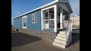 Cottage Series Mobile Home - 16 X 50 Ft. 2 Bedroom 1 Bath  705 Sq,ft.