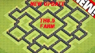 Clash of Clans - Th8.5 Farming Base - Th11 December Update