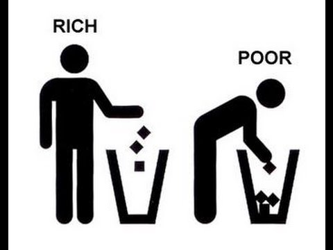 If the rich keep getting richer, and the poor keep getting poorer what will happen?