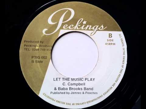 Cornell Campbell Let the Music Play - The Sensations Shake It - Treasure Isle