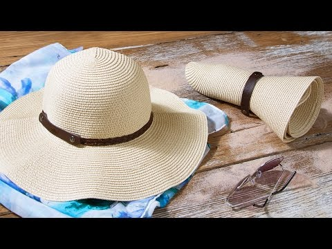 Roll N Go Sun Hat By Sunlily The Grommet