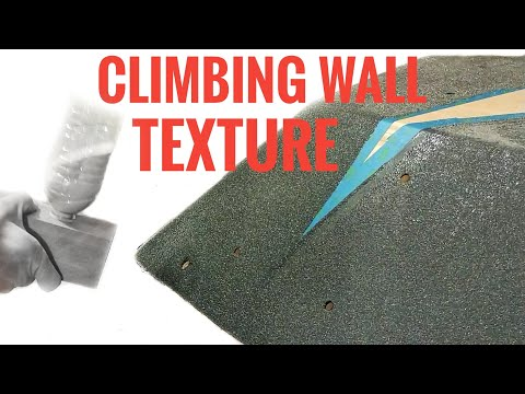 How To Paint A Volume For Climbing Walls