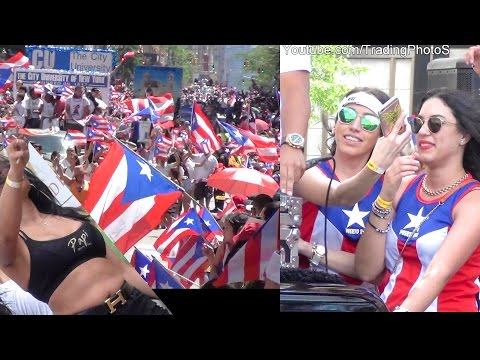 Puerto Rican Day Parade 2016, 5 HOURS of Video