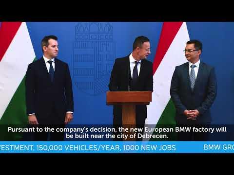 HIPA BREAKING NEWS - BMW Group chose Debrecen in Europe
