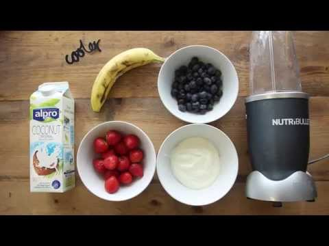 Pre-Surf Smoothie: How To Make A Great Strawberry, Blueberry & Banana Smoothie