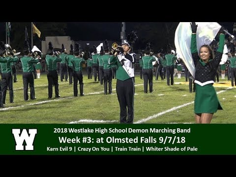 9.7.18 - at Olmsted Falls - Westlake High School Demon Marching Band