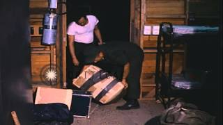United States Navy soldiers of the VAL-4 squadron at the Binh Thuy barracks after...HD Stock Footage