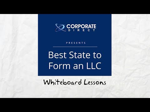 Best State To Form An LLC