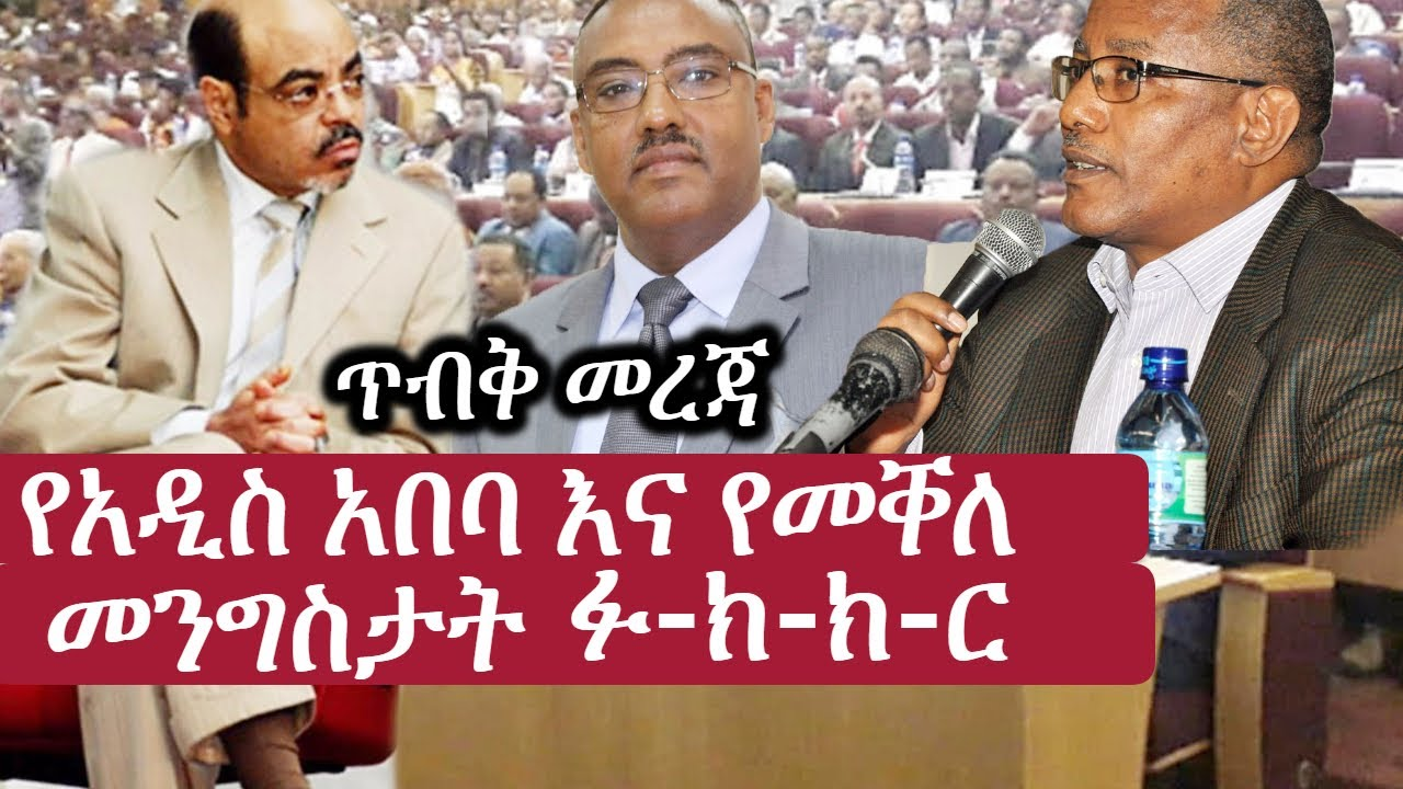 Ethiopia Melese Zenawi   Demeke Mekonen
