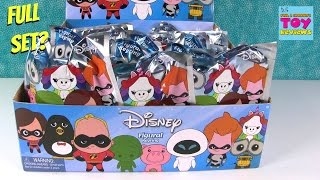 Disney Series 8 Figural Keyrings Blind Bag Toy Opening Review | PSToyReviews