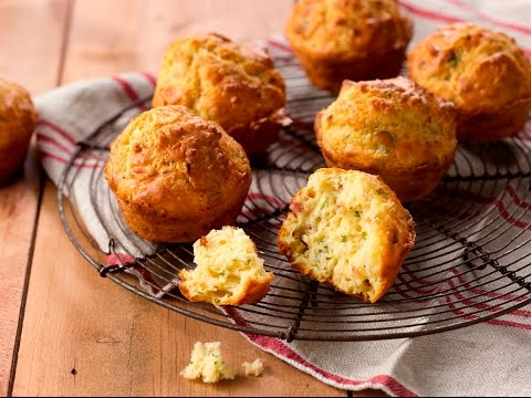 Easy Recipe: How To Make Cheese And Bacon Muffins