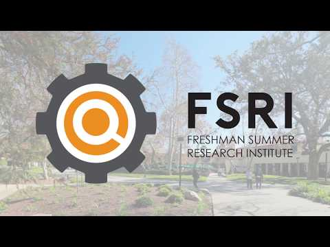 Freshman Summer Research Institute