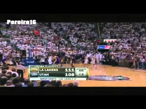 Derek Fisher Greatest Plays - Greatness Personified