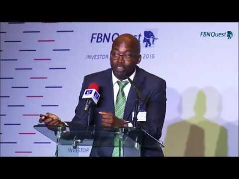 FBNQuest Investor Conference 2016 Presentations: Mr. Obi Ejimofo