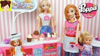 Las Bebes de Elsa y Ana Ayudan En la Tienda de Helados de Arcilla POPPIT Juguete thumbnail