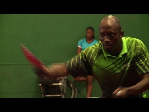 Nigeria's table tennis star serving for seventh Olympics