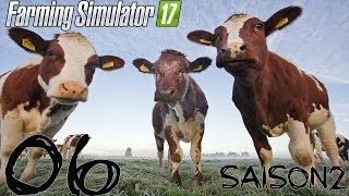 ON ACHETE DES VACHES ! - Farming Simulator S2 #6
