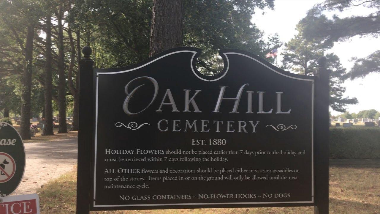 Cemetery Explorers Oak Hill Cemetery In Siloam Springs Ar Youtube