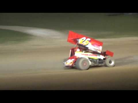 Plymouth Dirt Track Sprint Car Feature Highlights 7 15 2017