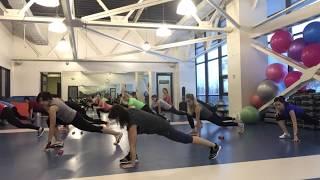 Кибо - фитнес тренировка. Элементы хореографии и восточных боевых искусств.