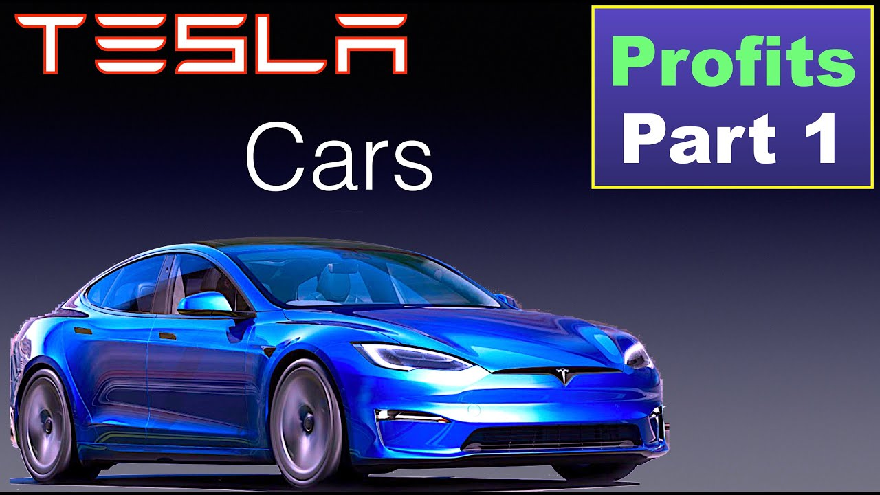 Tesla Vehicle Profit - Margins Part 1