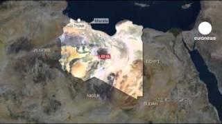 Libya'da isyancılar uçak düşürdü