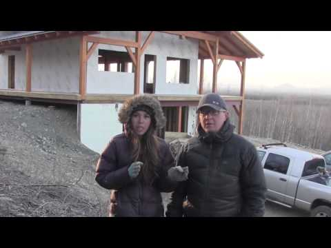 Installing a Chimney and Wood Stove - Owner Building a Home Video Series EP 17