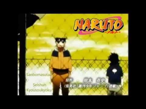 Naruto Opening 5 & (Ending/Closing 7 & 8) HQ